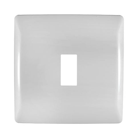 Crabtree - Diamond 1 Way Cover Plate 4 x 4 - 12001/601