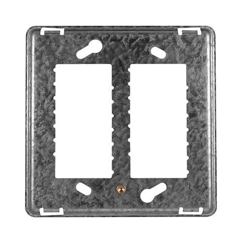 Crabtree - Diamond 4 Lever Grid Plate 4 x 4 - 12760/000