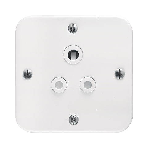 Crabtree - Single 6A Socket in Surface Box - 1430/101