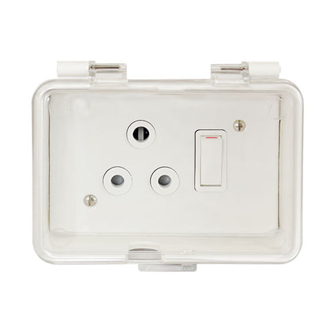Splash Proof Box Complete with Classic Socket
