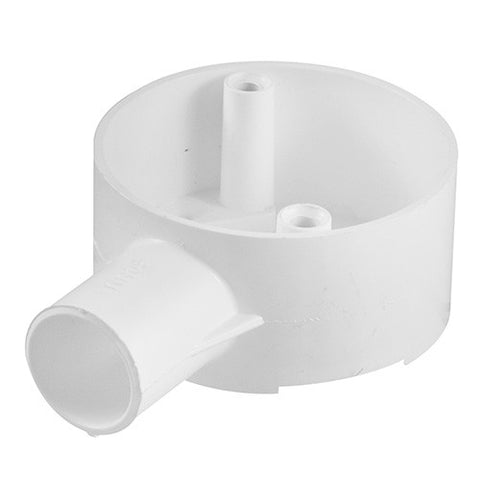 Crabtree - Conduit Box 1 Way Side Entry  - 20mm - '9010