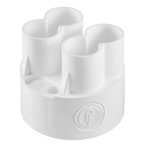 Crabtree - Loop-In Box 4 Spout - 20mm - '9027