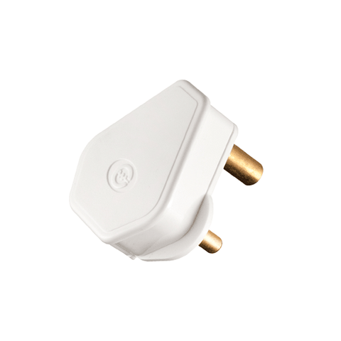 Crabtree Plug Top 3 Pin 6A C1049P