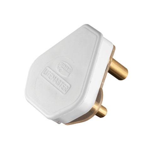 Crabtree Plug Top 3 Pin 16A White 1051P