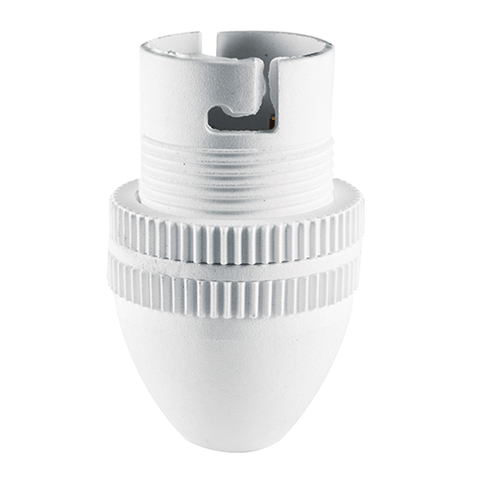 Crabtree Lamp-Holder 10mm White C3526