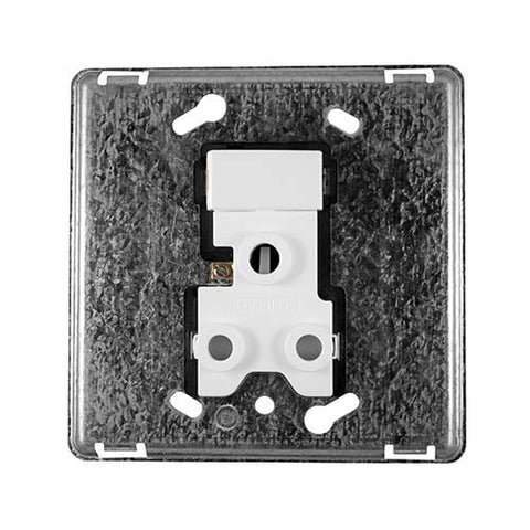 Diamond 16A Single Socket Grid Plate 4 x 4