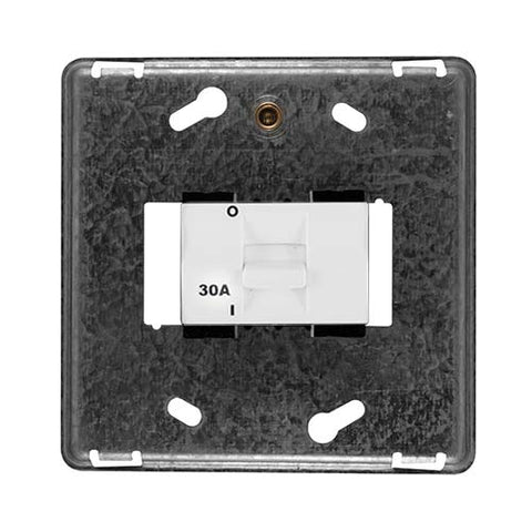 Diamond 30A Double Pole Isolator Grid Plate 4 x 4