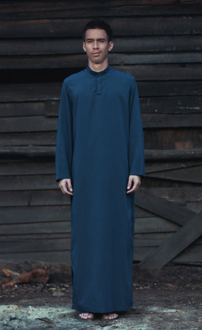 HABIB Robe in Midnight Blue
