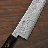 Kanjo VG10 Damascus Gyuto Chef Knife 210mm Urushi Handle