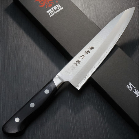 Kanetsune Seki SANDVIK AB Swedish 19C27 3Layer Chef Knife Gyuto 180mm KC153
