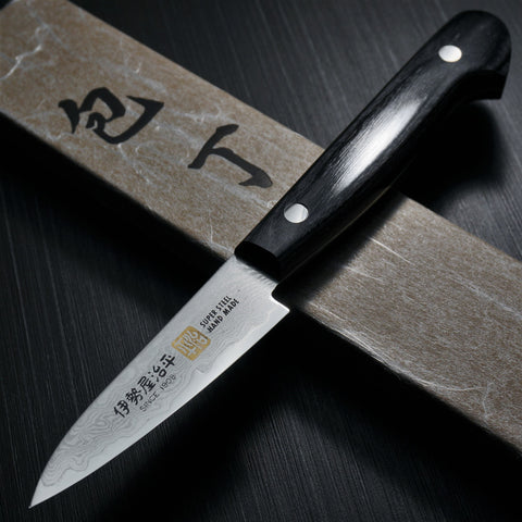 SETO Cutlery ISEYA 33 Layers Nickel Damascus VG10 Paring Knife 76mm G-0
