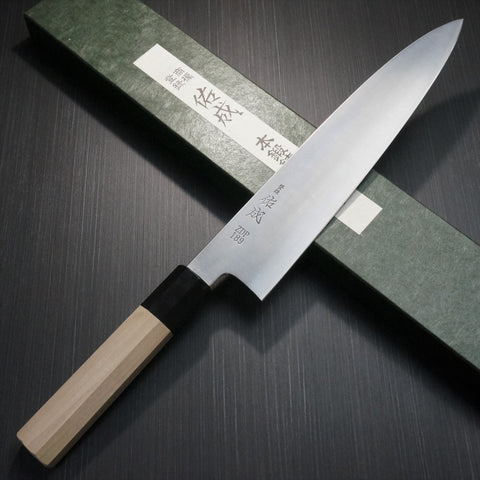 SUKENARI HITACHI ZDP189 Gyuto Chef Knife 270mm Water Buffalo