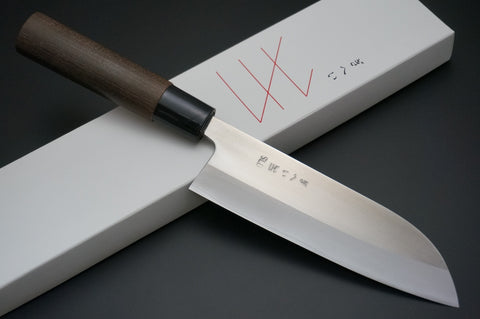 GIHEI HITACHI SLD Clad Stainless Steel Santoku Knife 165mm