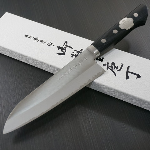 "Kanetsune Seki DP VG10 Clad Stainless Steel Santoku Knife 6.5"" 165mm KC-142"