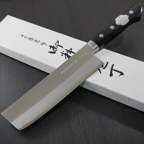 Kanetsune Seki DP VG10 Clad Stainless Usuba Knife 165mm KC-143