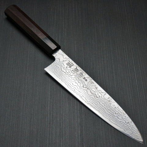 Sukenari ZDP189 Traditional Forging Damascus Gyuto Knife 210mm with Saya