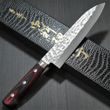 KATO SG2 Hammered Gyuto Chef's Knife 180mm Red Handle