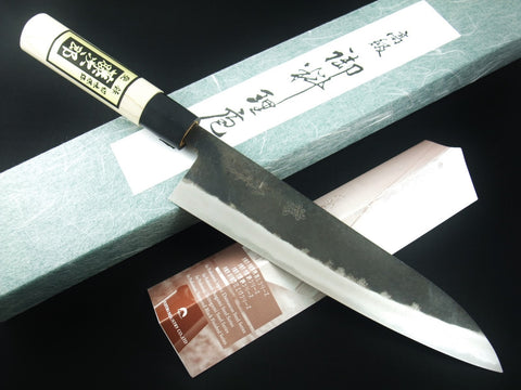 TOJIRO SHIROGAMI White Steel Black Finished Chef's Knife GYUTO 210mm F-694