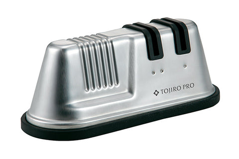 TOJIRO PRO 18-8 Stainless Steel Double Rolling Sharpener F-641