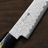 Kanjo VG10 Damascus Petty Knife 120mm Urushi Handle
