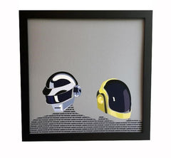 Daft Punk Limited Edition Print by Crepe Records