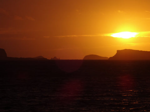 Ibiza Sunset taken by Crepe Records
