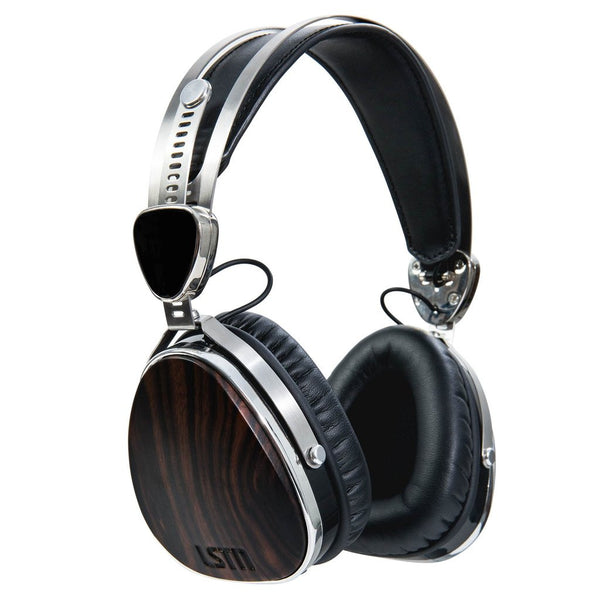 LSTN On-Ear Wooden Wireless Headphones,Headphones and Audio, Crepe Records, Crepe Records