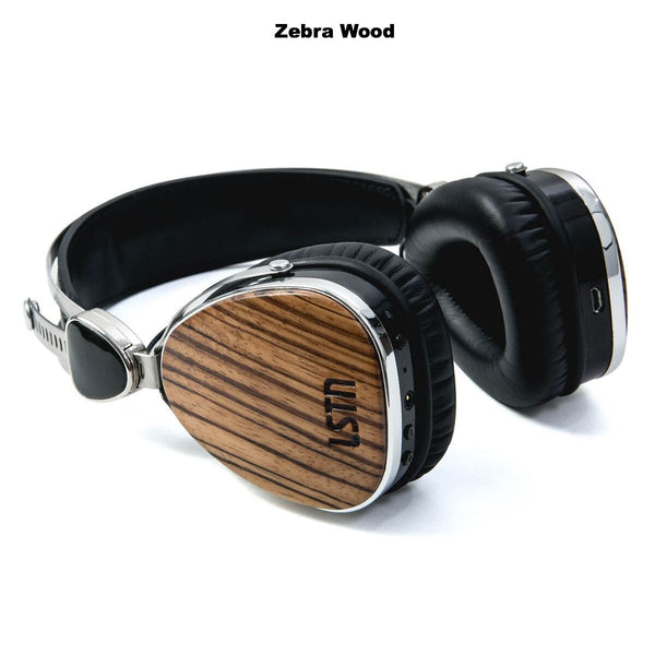 LSTN Troubadour On-Ear Wooden Wireless Headphones
