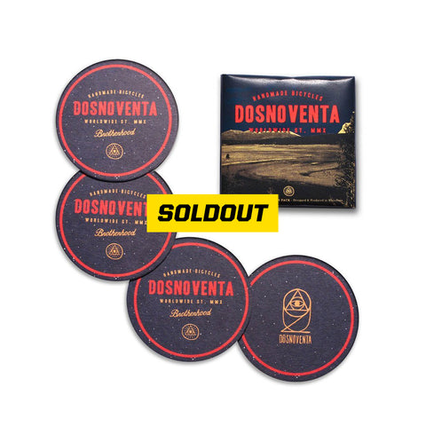 "DOSNOVENTA ""YELLOWSTONE"" COASTERS PACK"