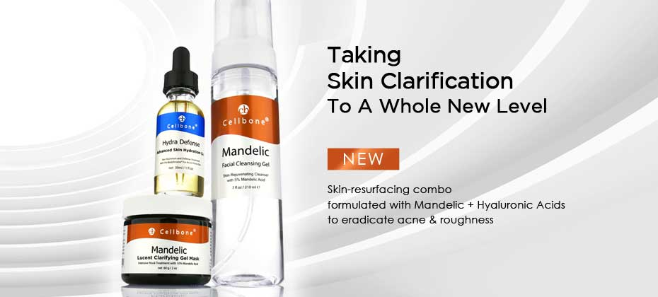 Introducing The New Mandelic + Hyaluronic Acids Skin-Resurfacing Combo