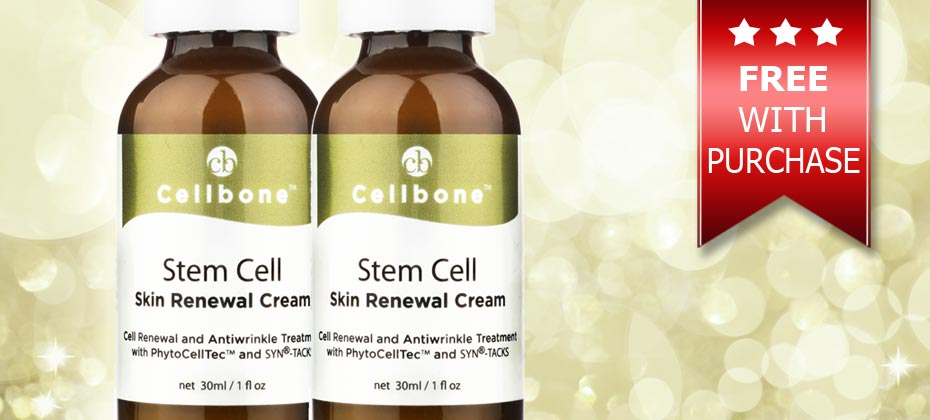 Dec 2015 Special Offers ~ Free Stem Cell Cream With Purchase