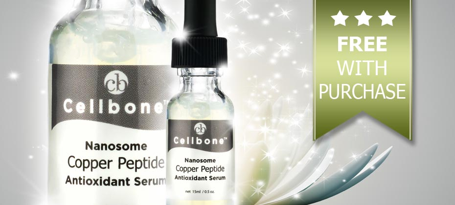 Jan 2016 Special Offers ~ Free Nanosome Copper Peptide Serum With Purchase