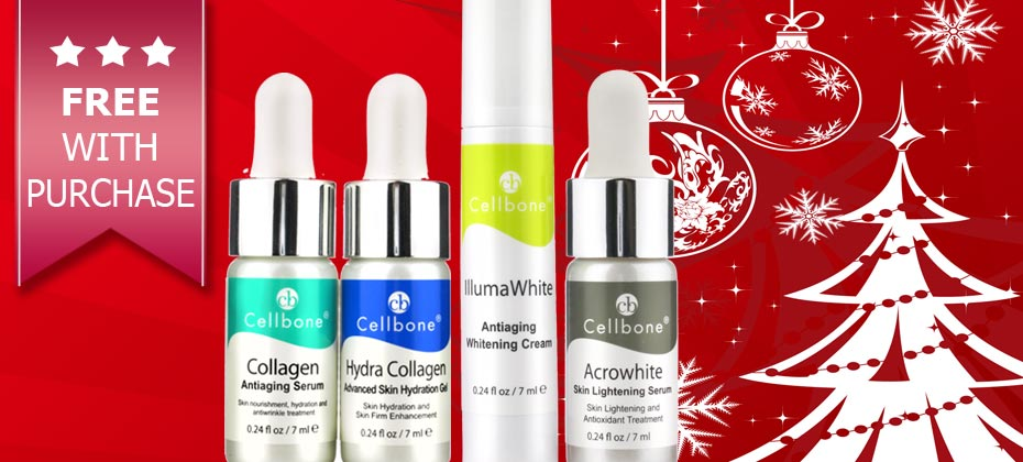 2017 Nov~Dec Special Offers ~ Free Advanced Whitening Kit and Collagen Nourishing Kit With Purchase