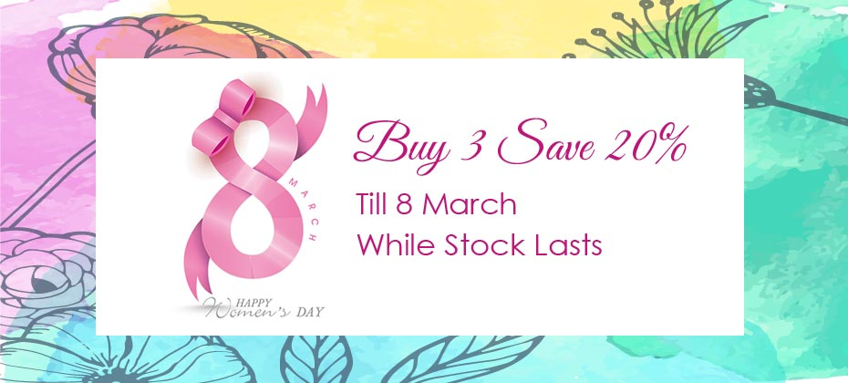 Women's Day Special Offer 婦女節優惠
