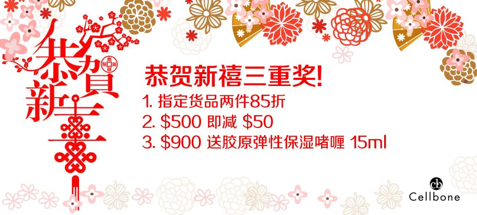 2018 Jan~Feb Chinese New Year Triple Offers