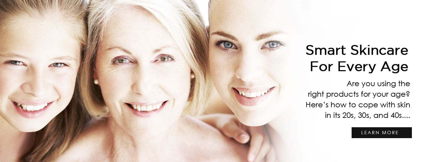 Smart Skincare For Every Age