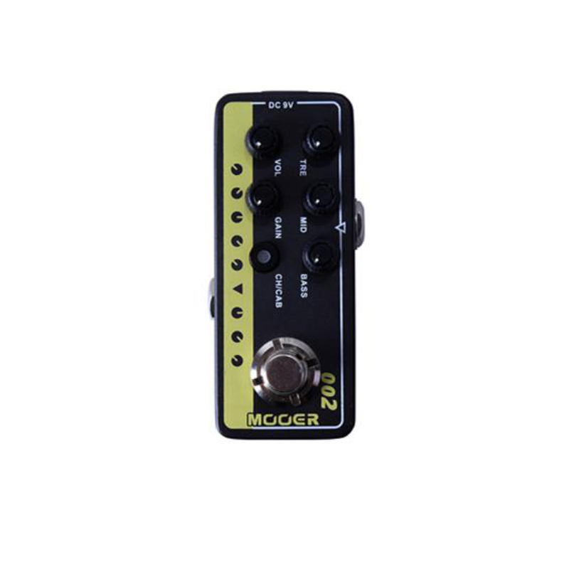 Mooer Micropreamp UK Gold 900