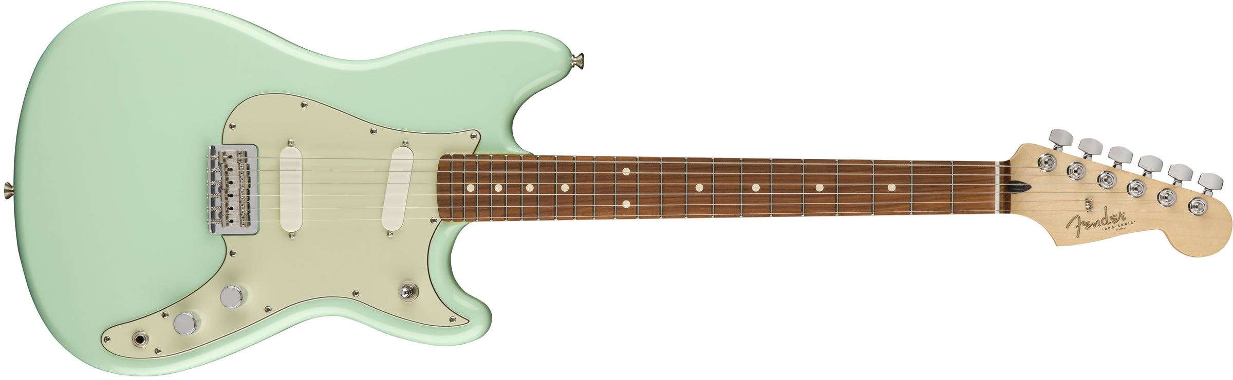 Fender Duo Sonic PF Surf Green