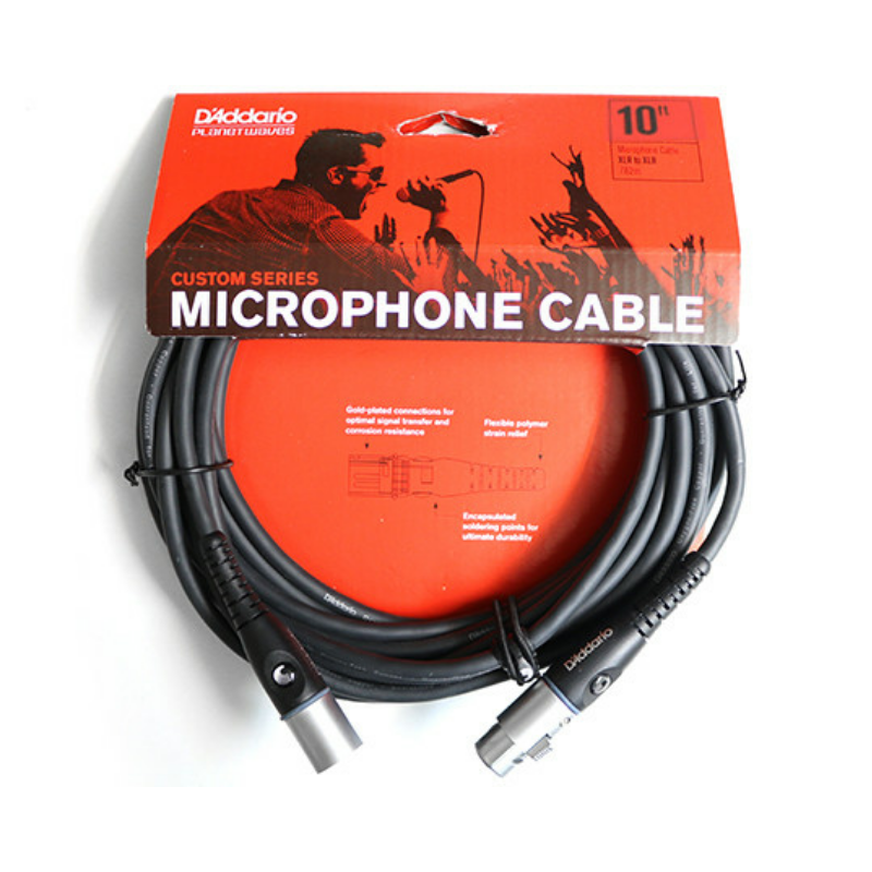 Cable de Microfono Planet Waves PW-M-10
