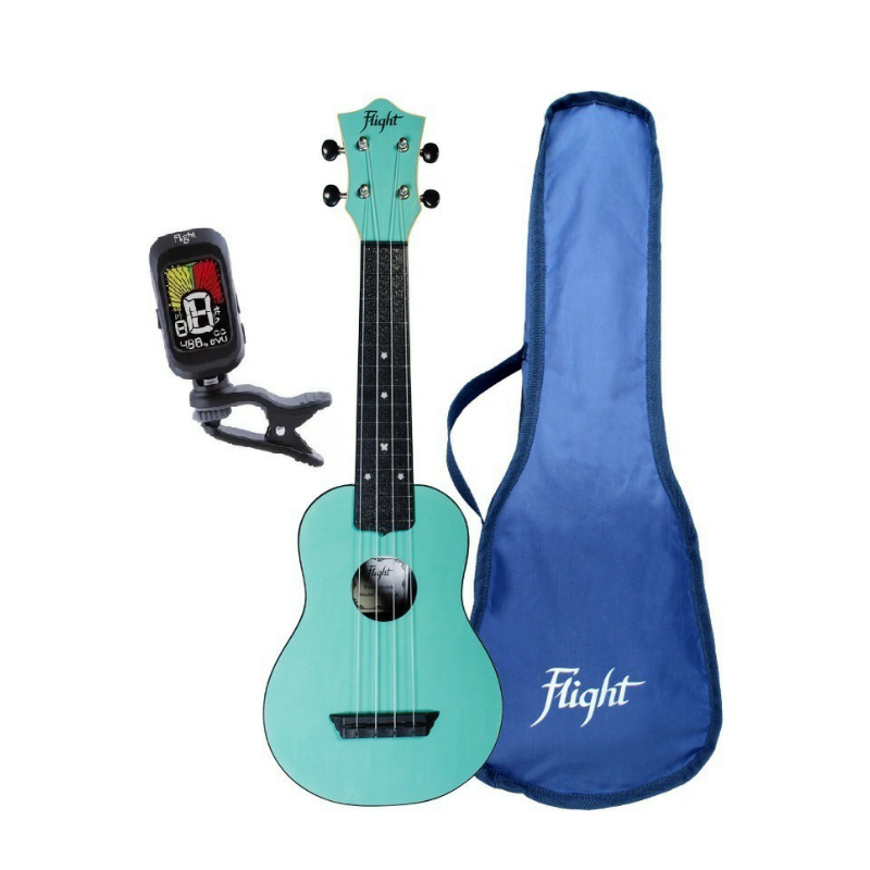 Ukulele Flight TUS35 Seafoam Pack