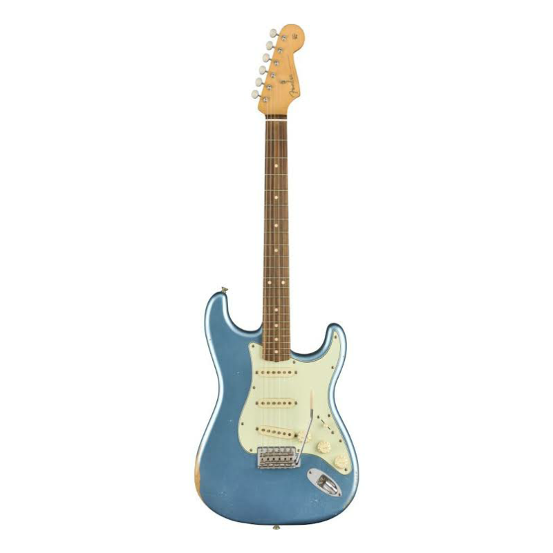 Road Worn® 60s Stratocaster®, Pau Ferro Fingerboard, Lake Placid Blue