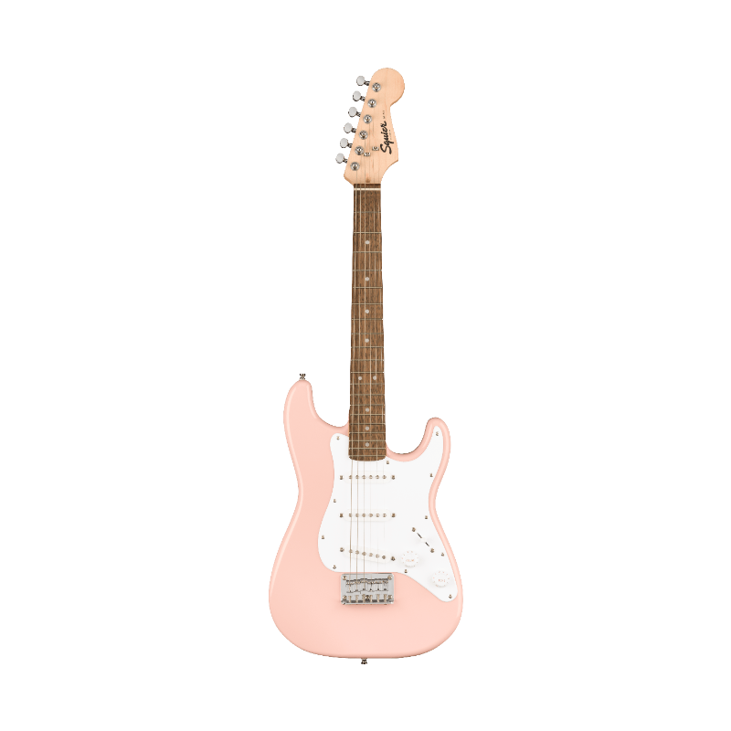 Mini Stratocaster®, Laurel Fingerboard, Shell Pink