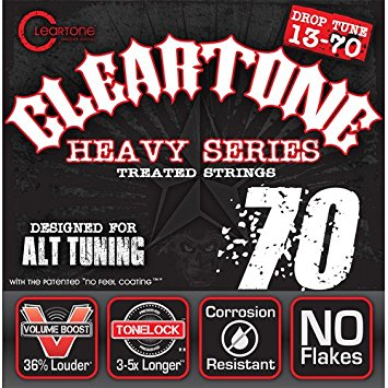 Cleartone Heavy Series Drop Tune 13-70