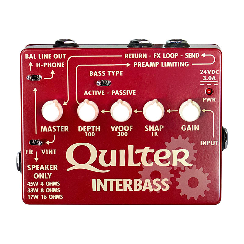 Quilter Interbass