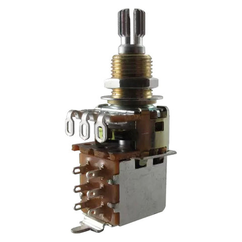 Potentiometer - Bourns, Audio, Knurled Shaft, Push-Pull, Mini, Resistance: 500 kOhm