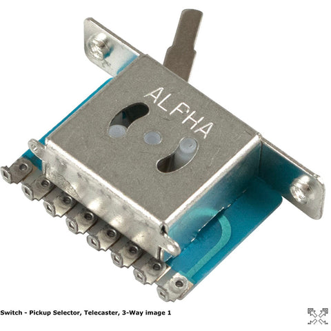 Switch - Pickup Selector, Telecaster, 3-Way
