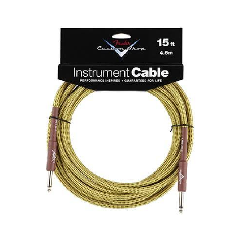 Cable Para instrumento Fender Tweed 15ft