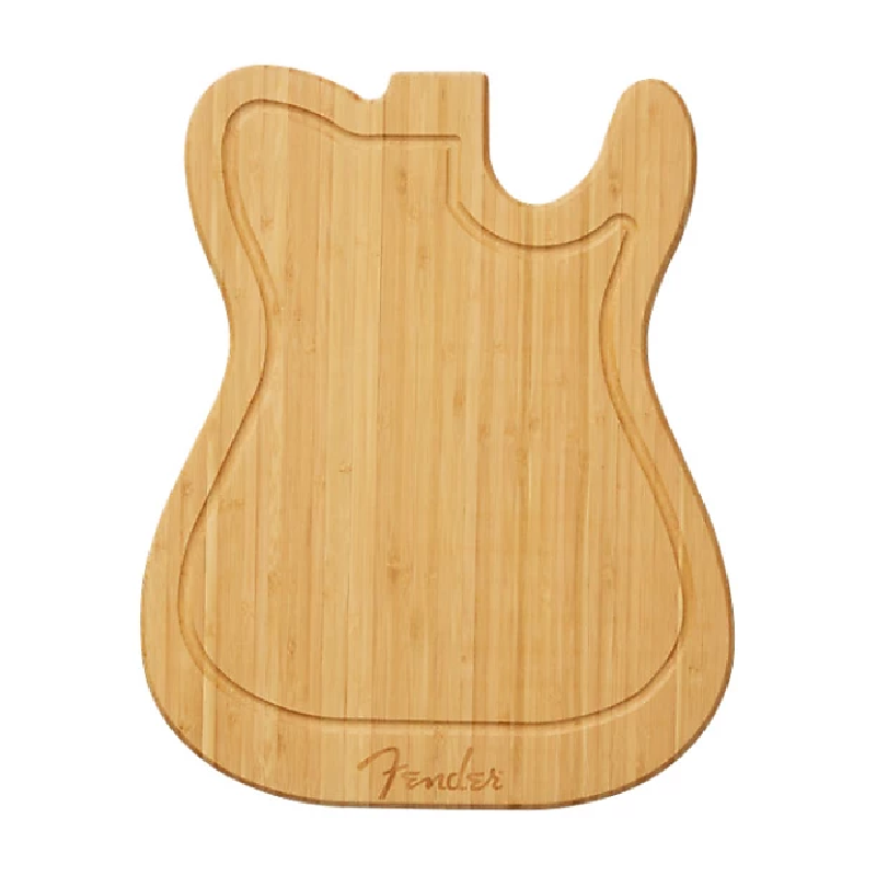 Fender Bamboo Cutting Board Telecaster