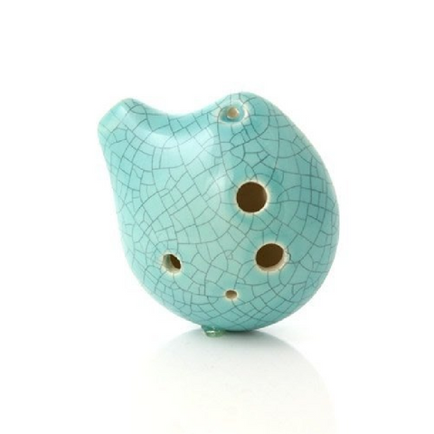 Ocarina Songbird Seedpod Alto C Jade Crackle