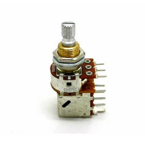 Bourns 500K Audio Taper Push-Pull Short Shaft Guitar Potentiometer